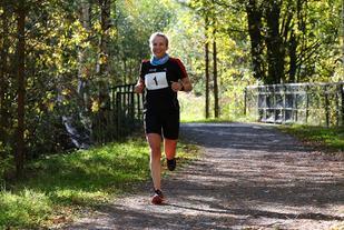 Therese Falk viser god form tre uker før EM 24-timers (foto: Bjørn Hytjanstorp).