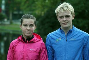 Christina Ellefsen Hopland og Markus Kjerner-Semb
