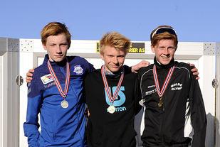 De tre beste i G15: André Seliussen, Mats Tranås, Mikkel Waldeland Gautvik.