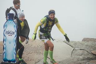 Først i mål: Kari Lingsom vant med stor margin kvinneklassen under årets Norseman. Foto: Henriette Tronrud