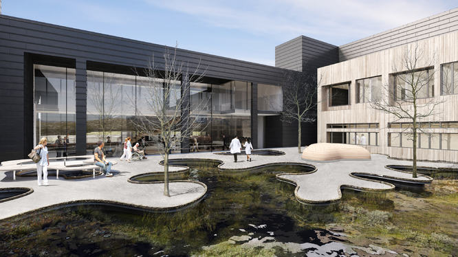 Nye Kirkenes sykehus - Atrium BC