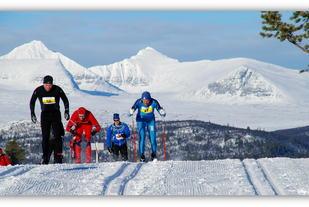 Fra 2015-rennet som gikk i fantastisk vær på Kvamsfjellet (arrangørfoto).