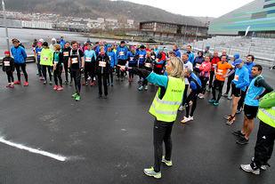 Klart for start under årets 1. løp. Foto : Arne Dag Myking