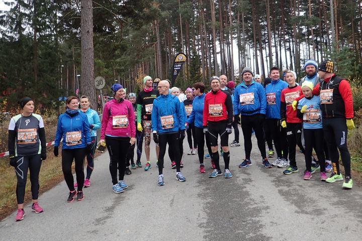 Startpulje 70:00 er klar (foto: Olav Engen).