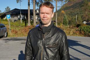 Helge Hafsås, Olden IL vant sin maratonseier nr. 175. (Foto: Jan Grov).