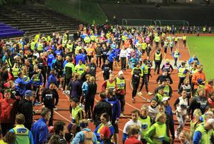 Det blir folksomt på Fana Stadion når Vinterkarusellen starter opp 7. november - Foto : Arne Dag Myking