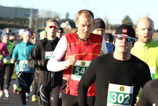 Fra starten på halvmaraton 2015 (foto: Olav Engen).