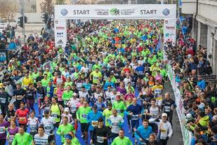 Fra Ljubljana Marathon som i år gikk for 21. gang (Foto: Ljubljana Marathon/Damjan Končar)
