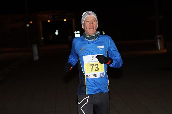 Bjørn Harald Bongom første mann i mål under dagens karusell, her under løpet 10.november