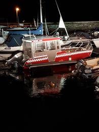 S3 båt i havn