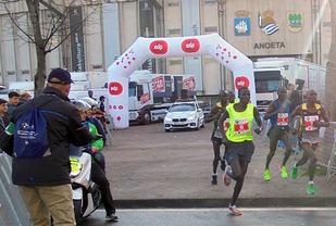 Teten i årets San Sebastian Marathon.