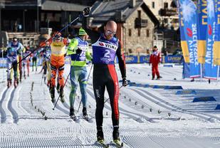 Tord Asle Gjerdalen, Santander går inn til sin fjerde seier totalt i SKi Classic.  Foto: Arrangøren.