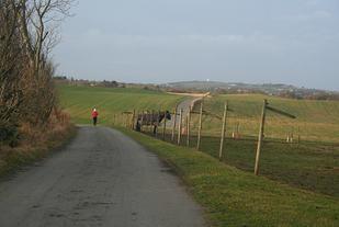 Løypa blir lagt langs idylliske omgivelser.   Foto: Sandnes IL.