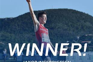 Mange lot seg imponere da Jakob Ingebrigtsen vant EM terrengløp for juniorer. (Foto: Det europeiske friidrettsforbundet)