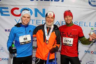 Det var veldig jevnt mellom Erlend Jensen og Sondre Øvre-Helland på 10 km. Video fra målpassering viste at Sondre vant med 1 meter