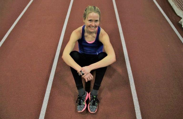 Mye trening: Lena Selen trener 10 økter i uka. I denne artikkelen forteller hun hvordan hun trener for å prøve å ta ut sitt potensiale. Foto: Marianne Røhme