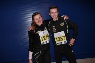 Silje Lindstad og Torbjørn Espeseth tok årets første 10 km seier i karusellen