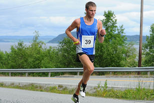 Ola Berg Fines vant 3000 meteren i Steinkjer på 8.36,76. (Arkivfoto: Arne Brunes)