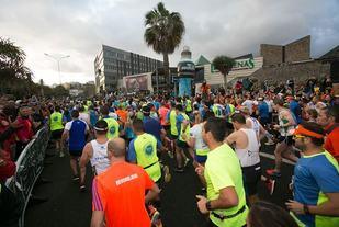 Fra årets Gran Canaria Marathon (Foto: http://grancanariamaraton.com/Facebook)