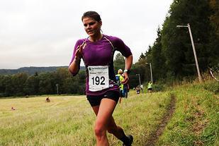 Marit Vala blir nr. 3 i Sørkedalsløpet i 2016. Foto: Heming Leira