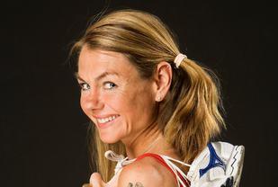 Utfordrende: Et maratonløp er utfordrende både fysisk og psykisk. Dette må en være forberedt på, mener Kirsten Marathon Melkevik. (Foto: Privat)