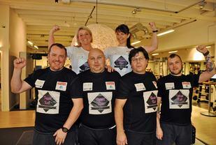 Team Tæl (foto: Kristian Rothli, Lofotposten).