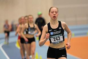 Hanna Sørensen fra Haugesund tok en klar seier i J15.