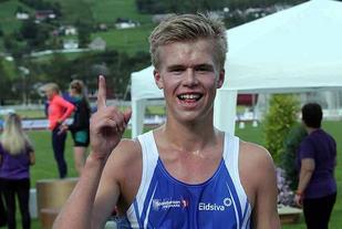 Sigurd Ruud Skjeseth uklassa konkurrentene på 3000 meteren i Tyrvinglekene. (Arkivfoto: Tom Roger Johansen)