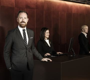 Kristoffer Solstad er HR-Direktør for Rezidor Hotel Group i Norden.
