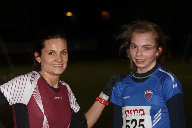 Dobbel Fri på kvinnenes  5km, Vigdis Reigstad og Nora Midttun