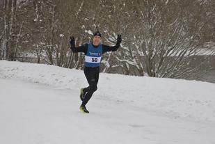 Bjørn Ole Vassbotn løp godt på sin 50ende bursdag. Foto: Arrangør