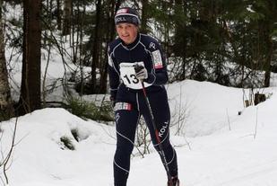 Marit Nordhagen i Lillomarka Rundt i 2015. Foto: Anita Øy