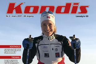 Birgit Skarstein trener iherdig både sommer og vinters tid. Langrennspigging er hovedidretten i vinterhalvåret. (Foto: Marianne Røhme)