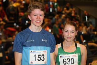 Tobias Lømo og Fride Møller Flatin