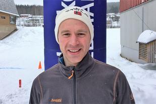 John Christian Deighan Hansen har fått for vane å være førstemann over Mora - i år med målgang ved Storstua på Koppang. (Foto: Gjermund Aasbrenn)