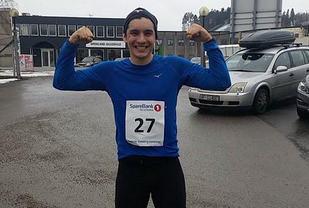 Anthony Avalos amerikaneren som trente til Boston Marathon. Foto: Arrangøren