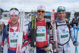 427 løpere fullførte den aller første SkøyteBirken, 61 kvinner og 366 menn.