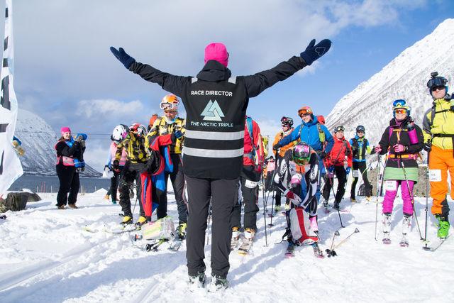 Start Lofoten Skimo 4000+. Foto: Maja B. Karlsen