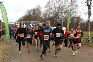 Fra Vårtävlingarna i Göteborg som arrangeres over to helger med 8 km første helg og 16 km/32 km andre helg (Foto: Torbjörn Gelotte).