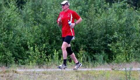 Henry Wehder i Eidsvoll 6-dagers 2015. (Foto: Bjørn Hytjanstorp)