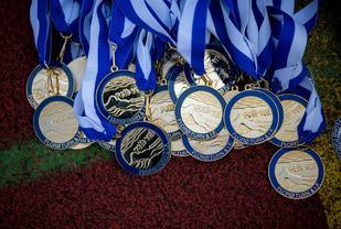 Rett Vest medaljer (Foto fra arrangørens facebookside 2015)