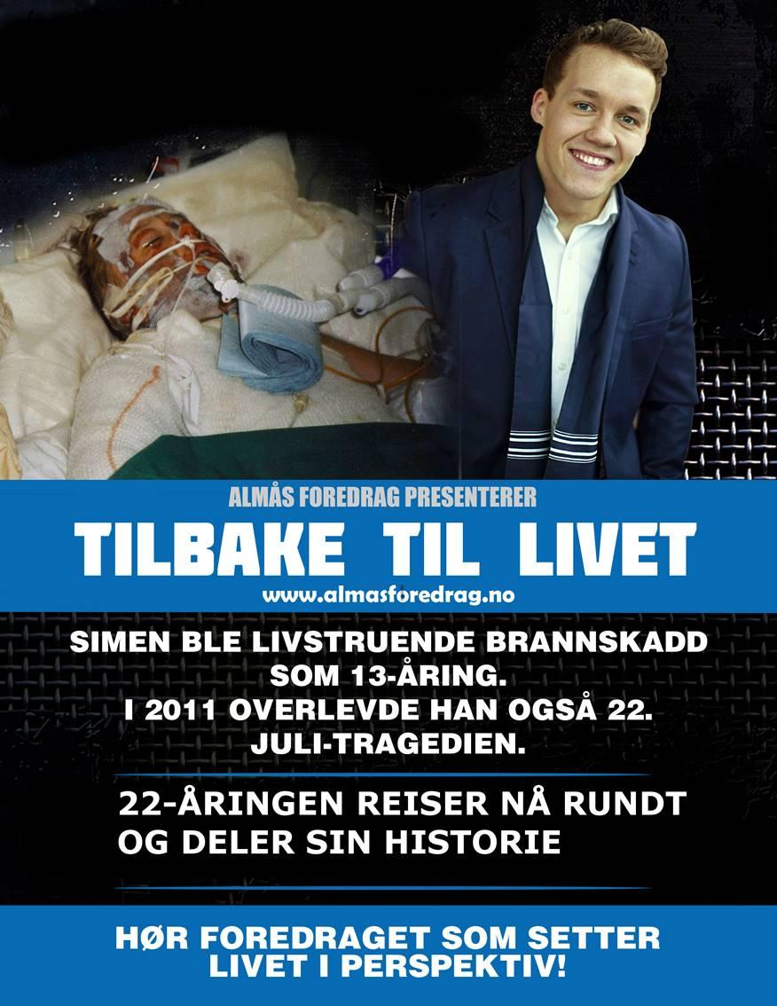 Plakat av Simen Almås