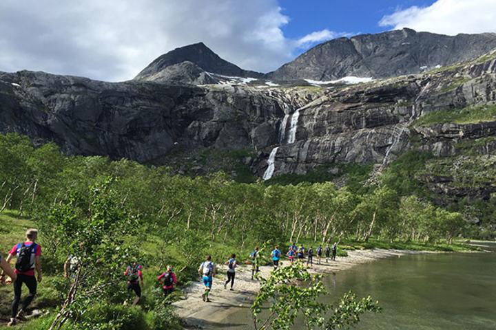 Fra fjorårets utgave av Børvasstindan Classic ved Bodø. Årets løp arrangeres 2. juli. (Alle foto: arrangøren)