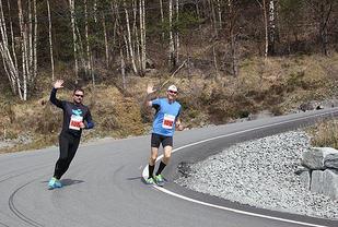 92 løp Strandamila, mens 17 løp Midtbygdens Halvmaraton. (Alle foto: arrangøren)