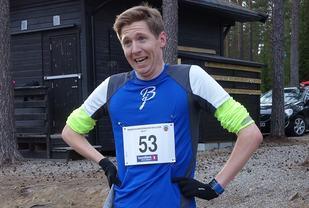 Vinner Anders Knudsen, IK Tjalve (Foto: Pål Evensen)