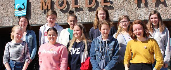 Nytt ungdomsråd på Rådhustrappa