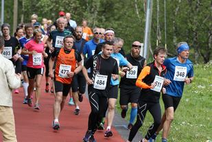 Fra fjorårets løpsfest i Haugesund. (Foto: Dag Eliassen)