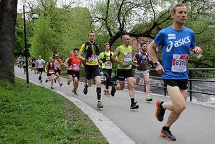 Didrik Hermansen gikk rett i tet ut fra start. Foto: Heming Leira
