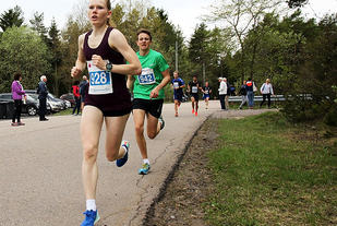 Karoline Holsen Kyte fortsetter å imponere denne løpsvåren i Oslo.
