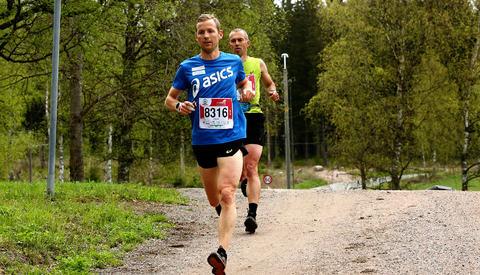 På den lengste distansen ble det oppskriftsmessig seier til Didrik Hermansen. Han lå i tet fra start til mål. (Foto: Bjørn Hytjanstorp)